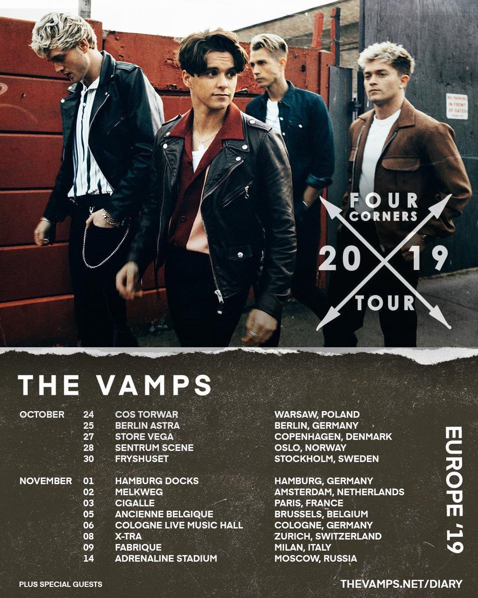 bf26004a We also can't wait to visit Russia for the first time ever!! Tickets  available @ http://TheVamps.net/dates xpic.twitter.com/Yn8skfHDci