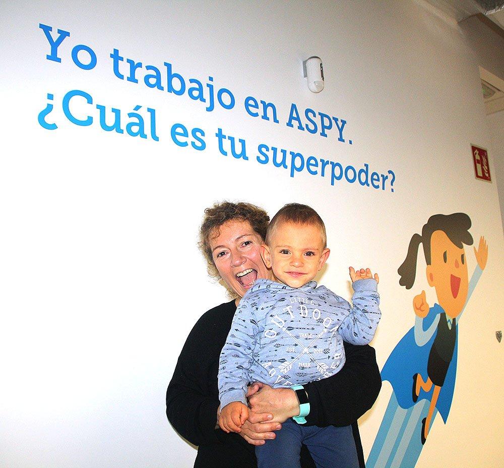 test Twitter Media - En @ASPYPrevencion nos encantan las visitas especiales. Como la de nuestra compañera @Paulha33hotmai1 que nos presentó a su peque, Iago #aspybaby #familiaazul #supermami #superpoderesASPY https://t.co/aaaVI0zj37