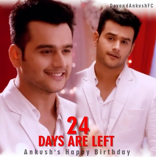 24 days are left for Prince charming Happy Birthday