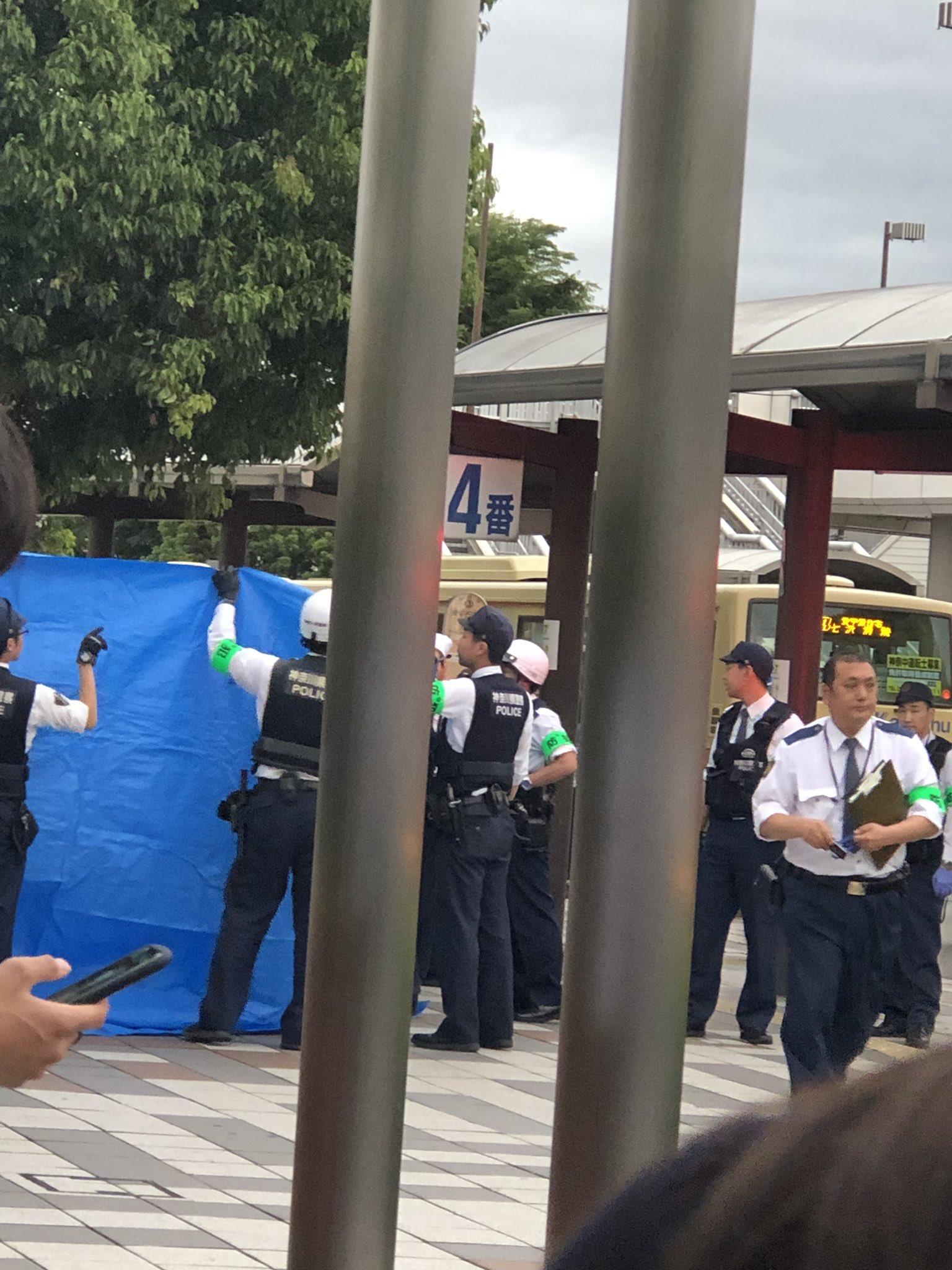 愛甲石田駅のトイレで事件が起きた現場の画像