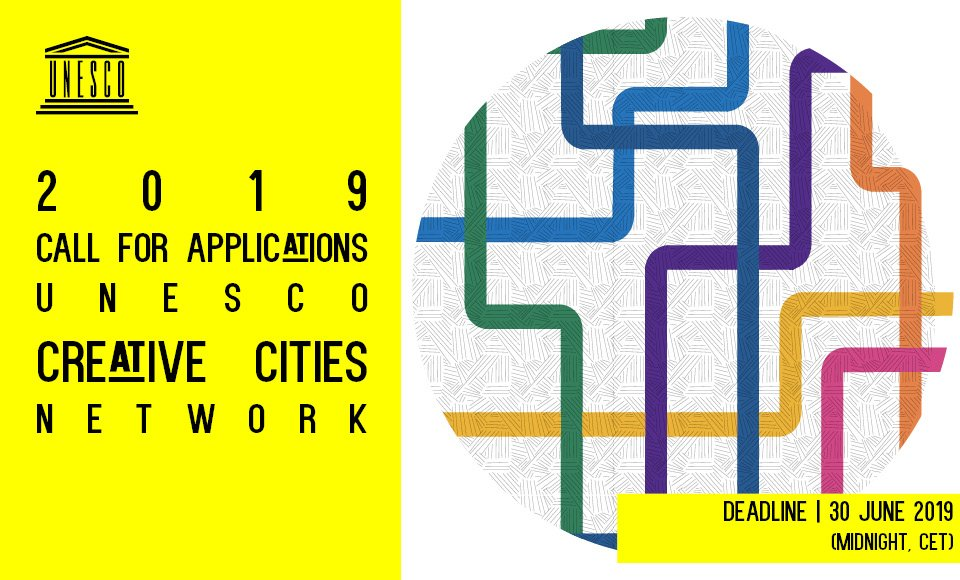 Open call to cities around the world to join the @UNESCO Creative Cities Network, covering seven creative fields: #crafts and folk arts, #design, #film, #gastronomy, #literature, #media arts, and #music https://culture360.asef.org/opportunities/unesco-creative-cities-network-open-call-new-cities-join/… DL June 30