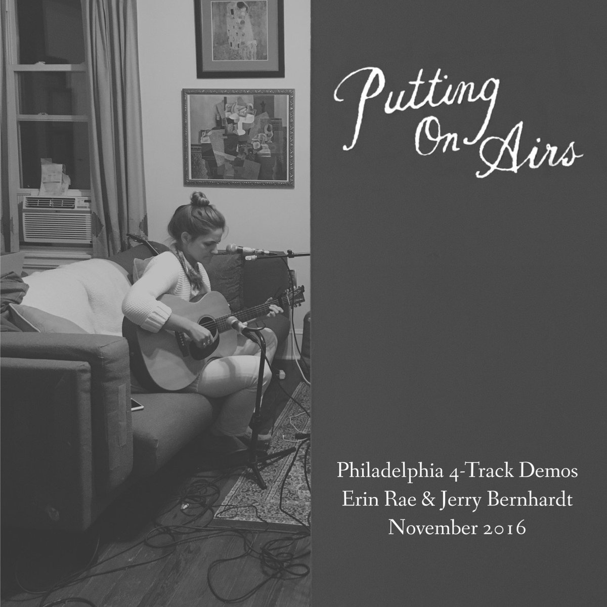 Out everywhere today: Putting On Airs (4-track Demos) ✨Track listing:1. Grand Scheme2. Can't Cut Loose3. The Real Thing4. Putting On AirsHope you enjoy listening these as much as I do. Listen here: https://orcd.co/erinraedemos✨