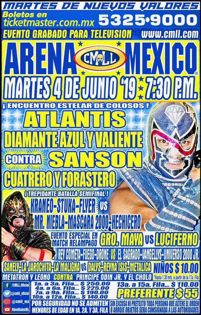 Una mirada semanal al CMLL (Del 23 al 29 de mayo de 2019) 25