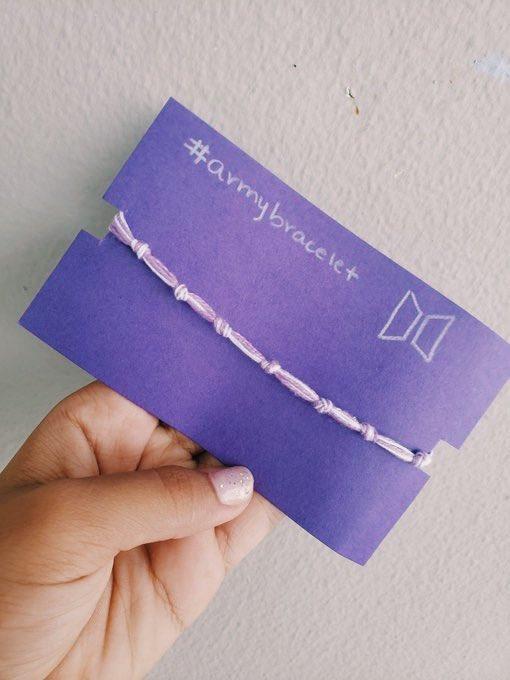 I Purple You BTS Army Bracelets