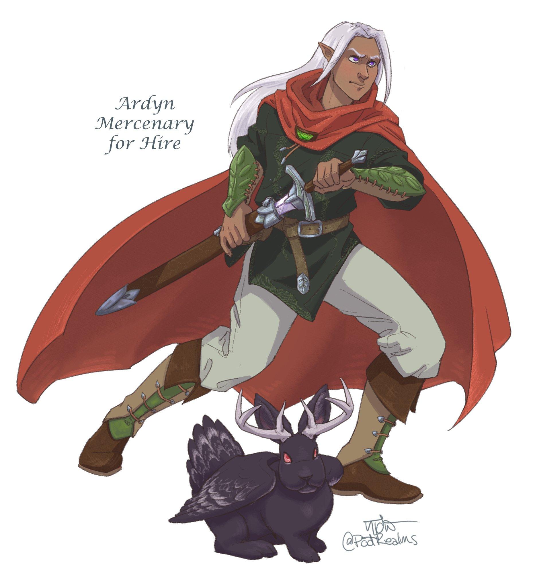 Ardyn, Mercenary for Hire