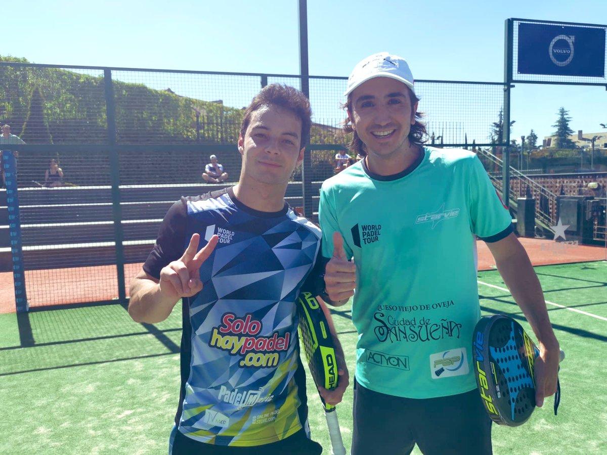 Adrián Blanco Antelo y Javier Martínez se clasificaron para el cuadro final del Swedish Open