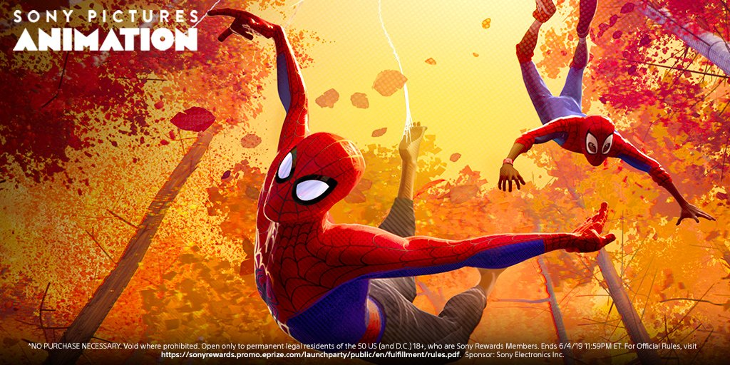 RT SonyRewards: The new #SonyRewards app is here & we're celebrating with a massive giveaway, including a trip for two to the Sony Pictures Animation studio in L.A.: https://go.sony.com/2UUDuZX  pic.twitter.com/Xy4OYDiayI