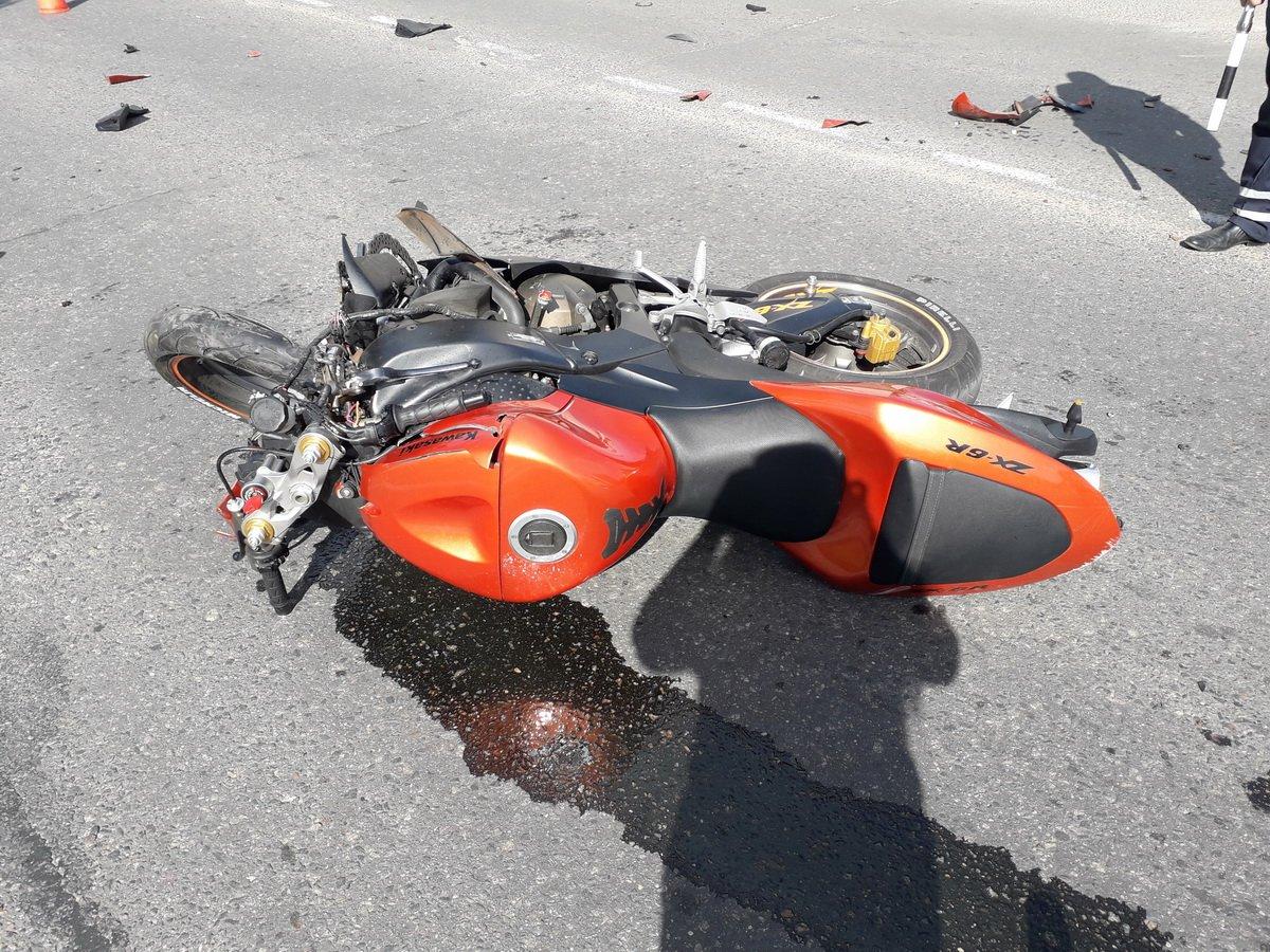 Авария с мотоциклом картинки