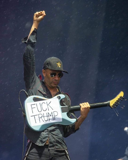 I know its a little late buuut... Happy birthday Tom Morello
