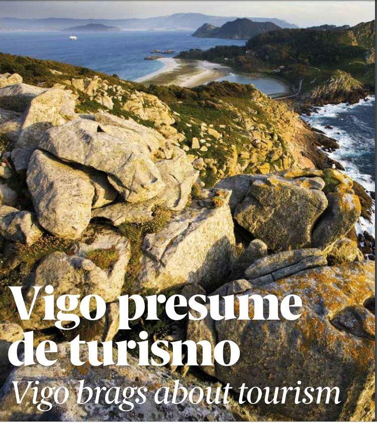 """La revista de @Airnostrum dedica en su número de junio un amplio reportaje a las playas de #Vigo y las #IllasCíes. """"Un destino perfecto para los amantes del mar"""" #FlyToVigo ✈️http://www.airnostrum.es/ficheros/949_1_ANE23.pdf…"""