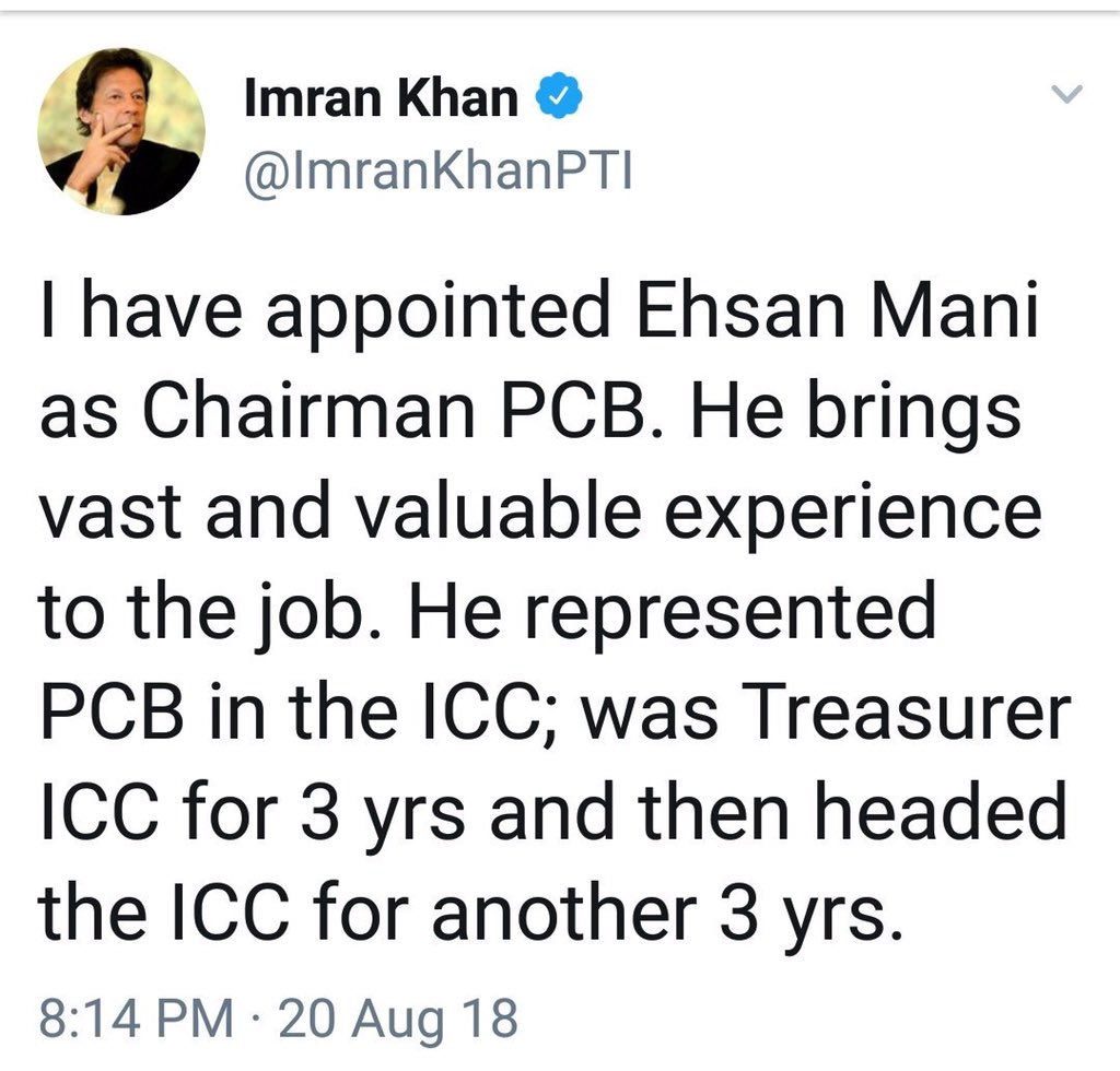 Imran Khan time travelled again   1. 2018  2. 2016