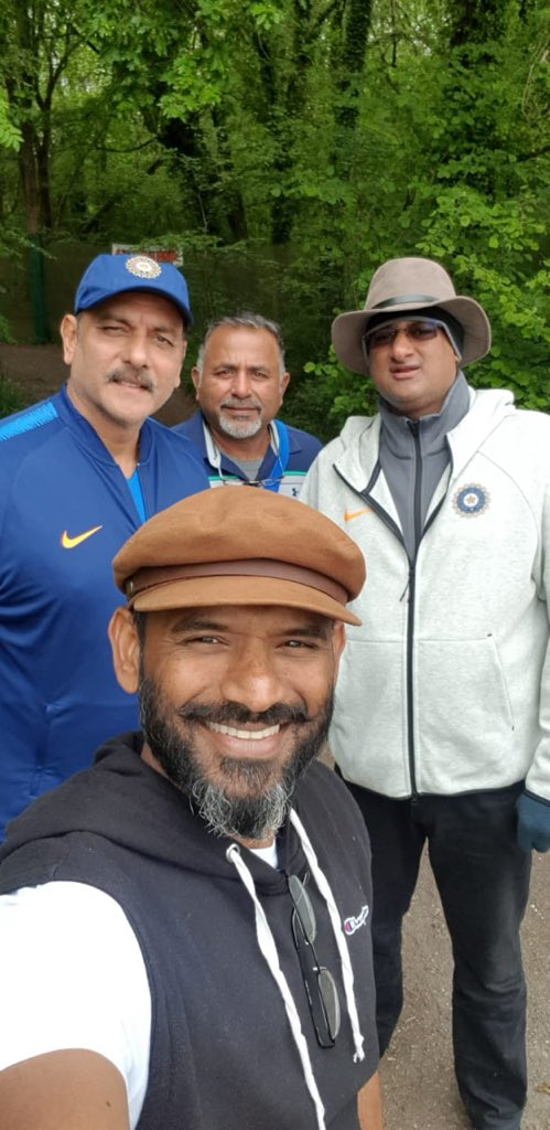 Day out in the woods #CWC19 #TeamIndia
