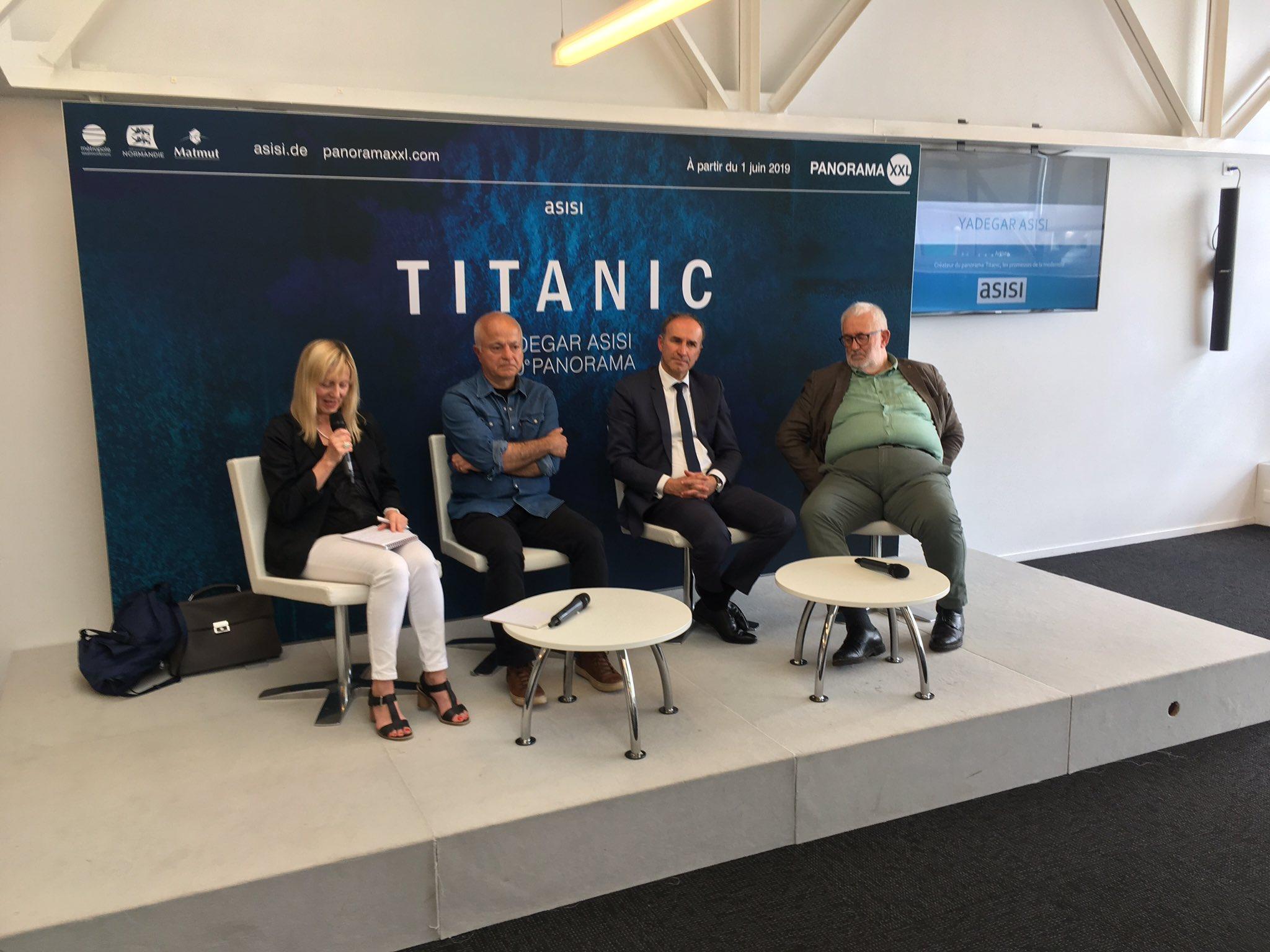 """Expo """"Titanic, les promesses de la modernité"""" by Asisi D75mVuTWsAEMo1u"""
