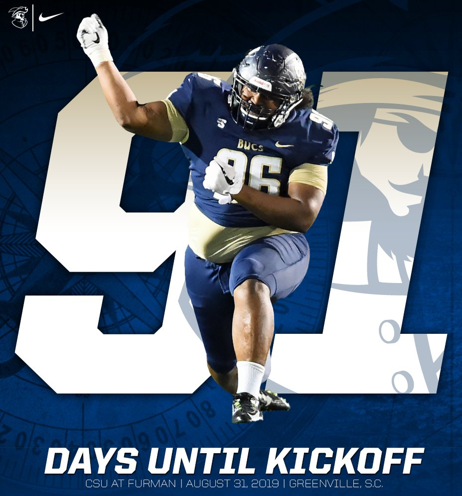 9️⃣1️⃣ days until ukelele playing 9️⃣1️⃣ days until QB takedowns 9️⃣1️⃣ days until@CSUFB runs out of that tunnel 9️⃣1️⃣ days until @pohahaujp5 is celebrating on that field  #JoinTheSiege #BucVi2i0n20