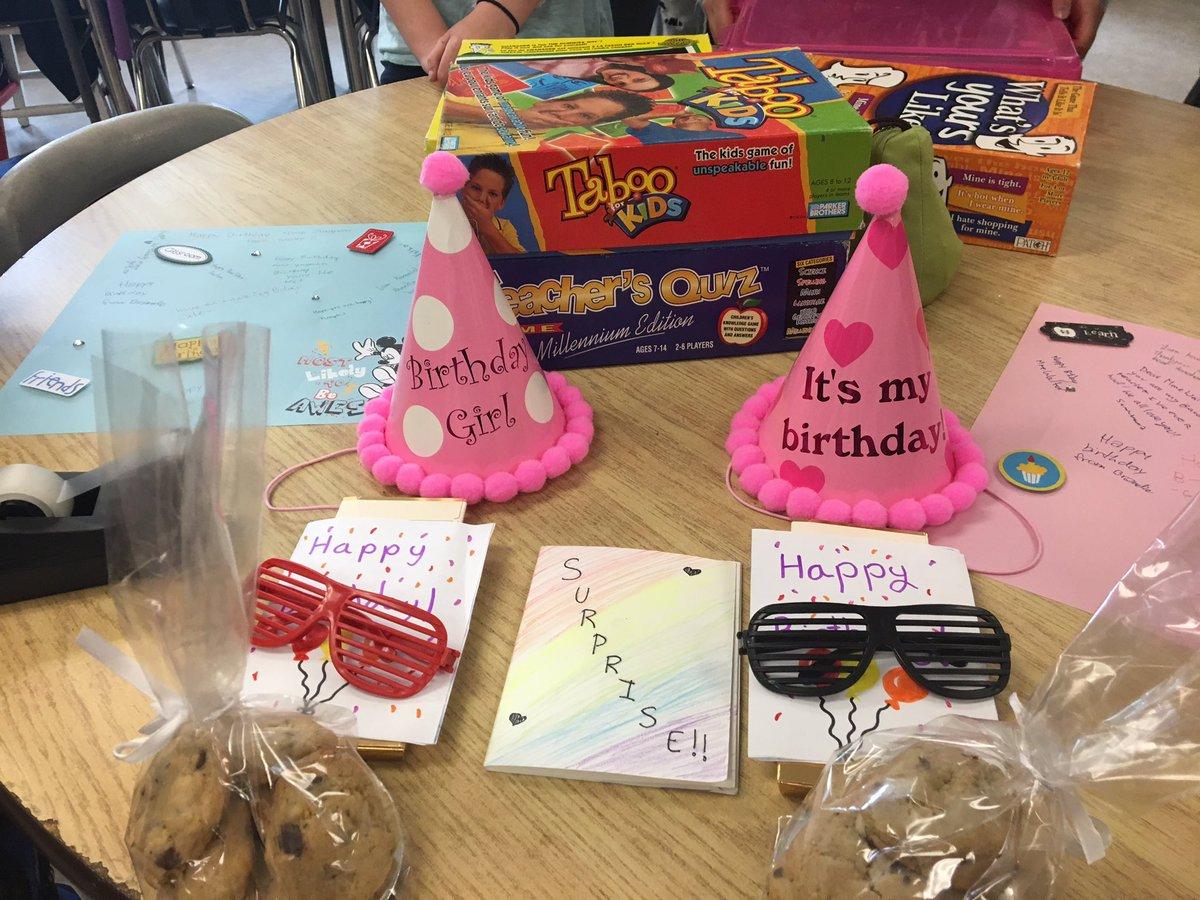 Best grade 6 kids! Surprise Birthday for their teachers.