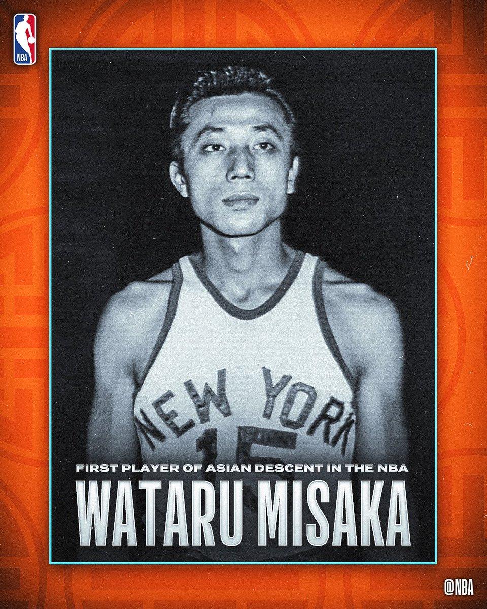 e524779bb7 In 1947 Japanese American Wataru Misaka