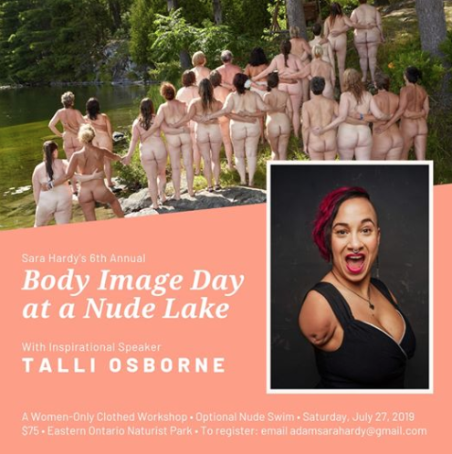 test Twitter Media - If you are a woman struggling with body image issues, this women-only event may be for you. Featuring guest speaker @NUBS416 come together with a group of supportive uplifting woman & begin learning to love your body...https://t.co/i03xrNXwqy #naturist #bodyconfidence #bodyposi https://t.co/a9cDT5PrOz