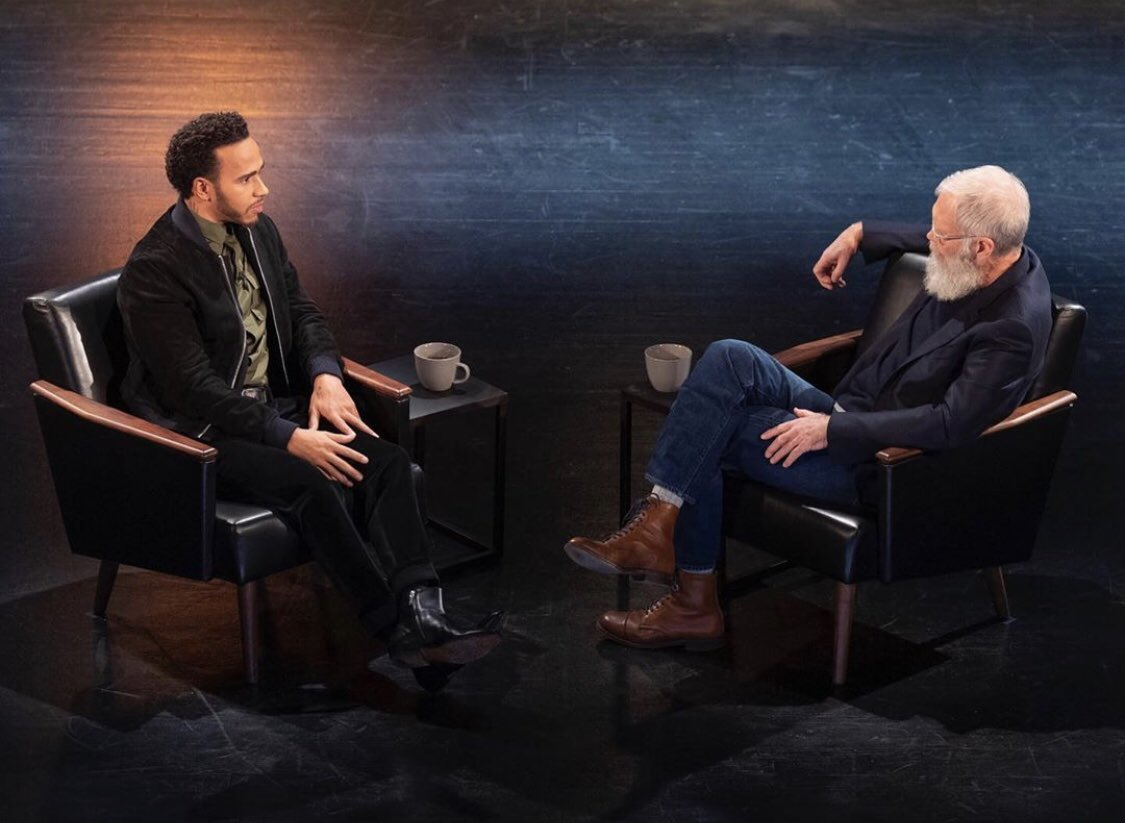 So excited that my episode with @Letterman has now launched on @netflix. Some weekend watching for you guys! Let me know what you think 🤘🏾#MyNextGuest