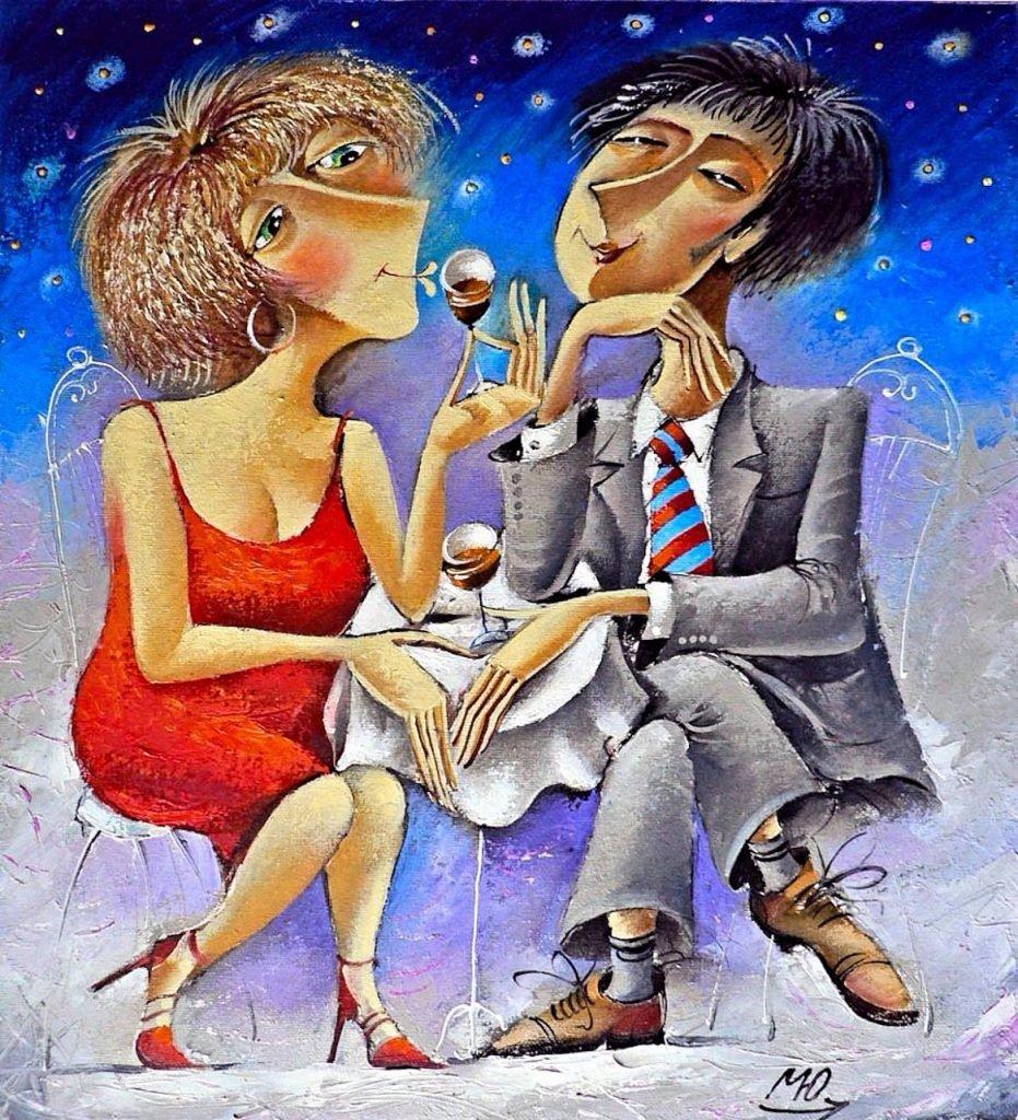 Поздравления молодоженов, свидание веселые картинки