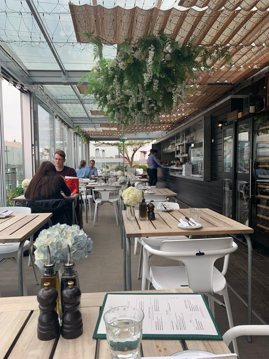Everyone loves a rooftop bar in the summer and the Rooftop Bar & Grill @BoundaryLDN is a special one. Enjoy the tasty cocktails in the sunshine and marvel at the view over The City. #londonhotel #rooftopbar #london