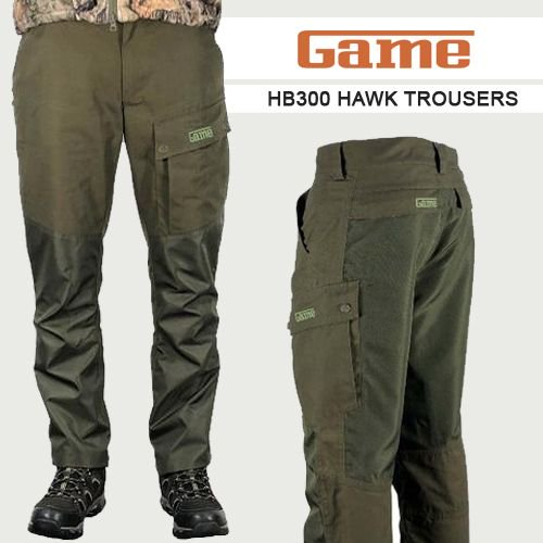 f0768b82f981b The HAWK trousers which were recently released contain the same fantastic  quality and attention to detail as the rest of the GAME range.