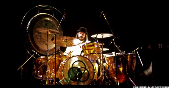 Happy birthday to one of the most influential rock drummers of all time, John Bonham, who would\ve been 71 today.