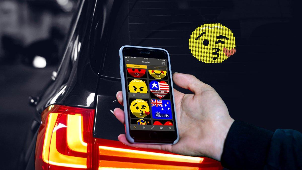 Автомобильный Emoji дисплей в Иркутске
