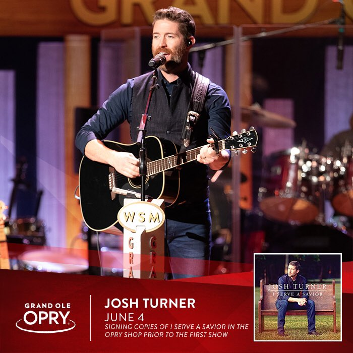 f8922c91cf9baf Even more excited to meet y'all before the first show! I'll be signing  copies of my latest record at The Opry Shop at 5:15pm, come say hi!