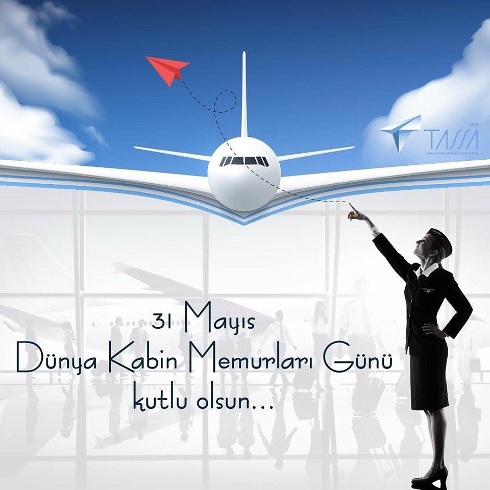 31 Mayıs Dünya Kabin Memurları Günü Kutlu Olsun.✈🎁  Happy 31st of May International Flight Attendant Day ✈🎁  #aviation #sky #avgeek #aviationlovers  @tassaorgtr