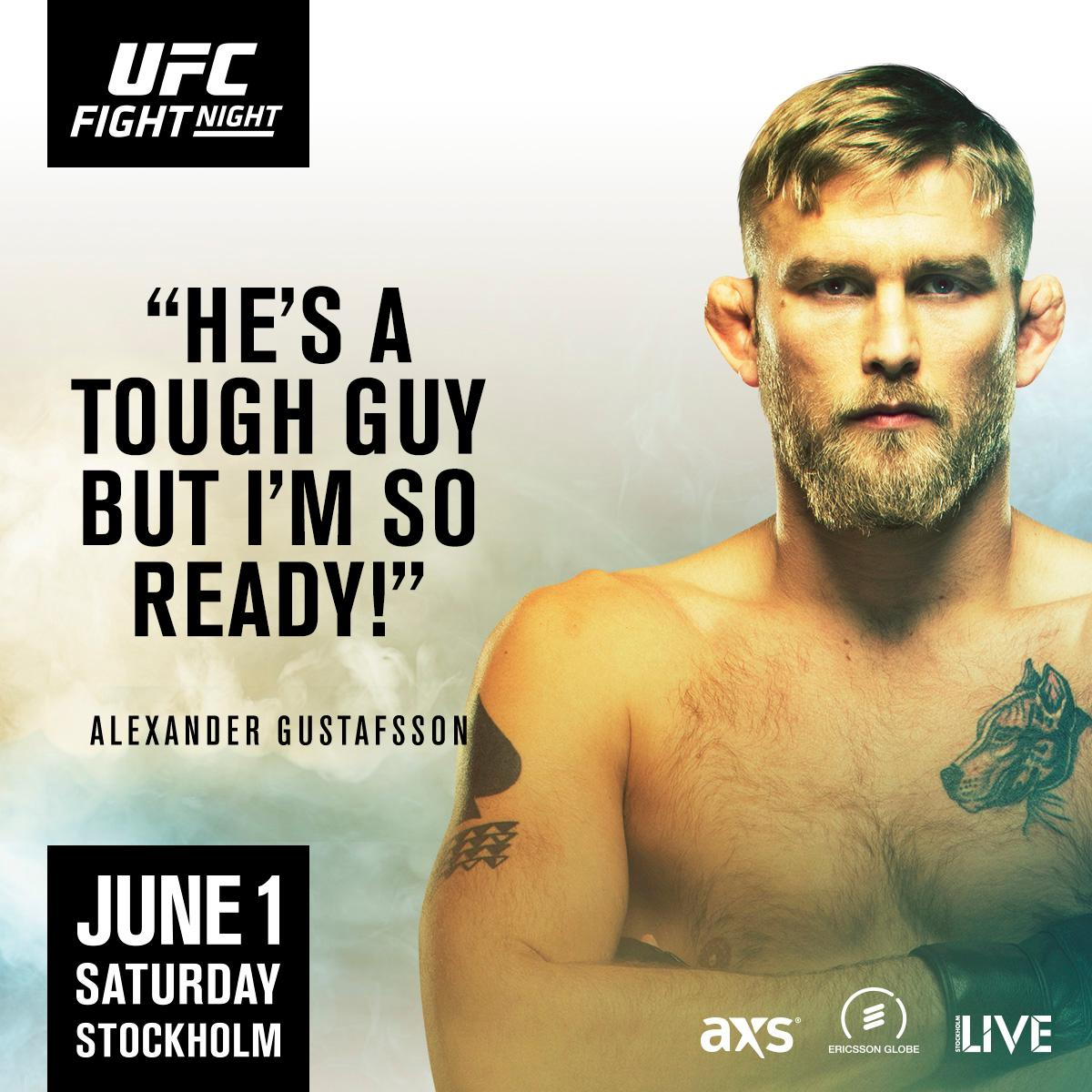 RT UFCEurope: 🇸🇪 AlexTheMauler has no intentions of letting down his home fans tomorrow at #UFCStockholm! https://t.co/VwL9mBEk7b #ufc #mma