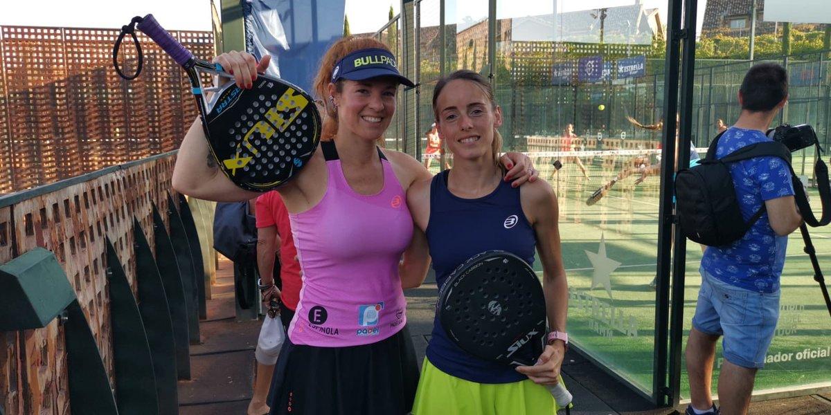 Celeste Paz y Estela Francés vencieron en su partido del pasado viernes en la previa del Swedish Open