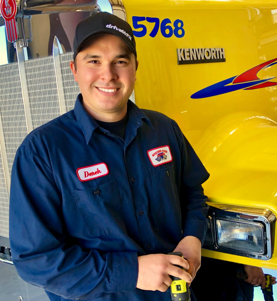 Derek has been with WFX for 4 years in the body shop  He