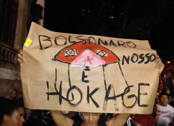 Não acredito que isso teve na manifestação do dia 30 #BolsonaroOrgulhodoBrasil