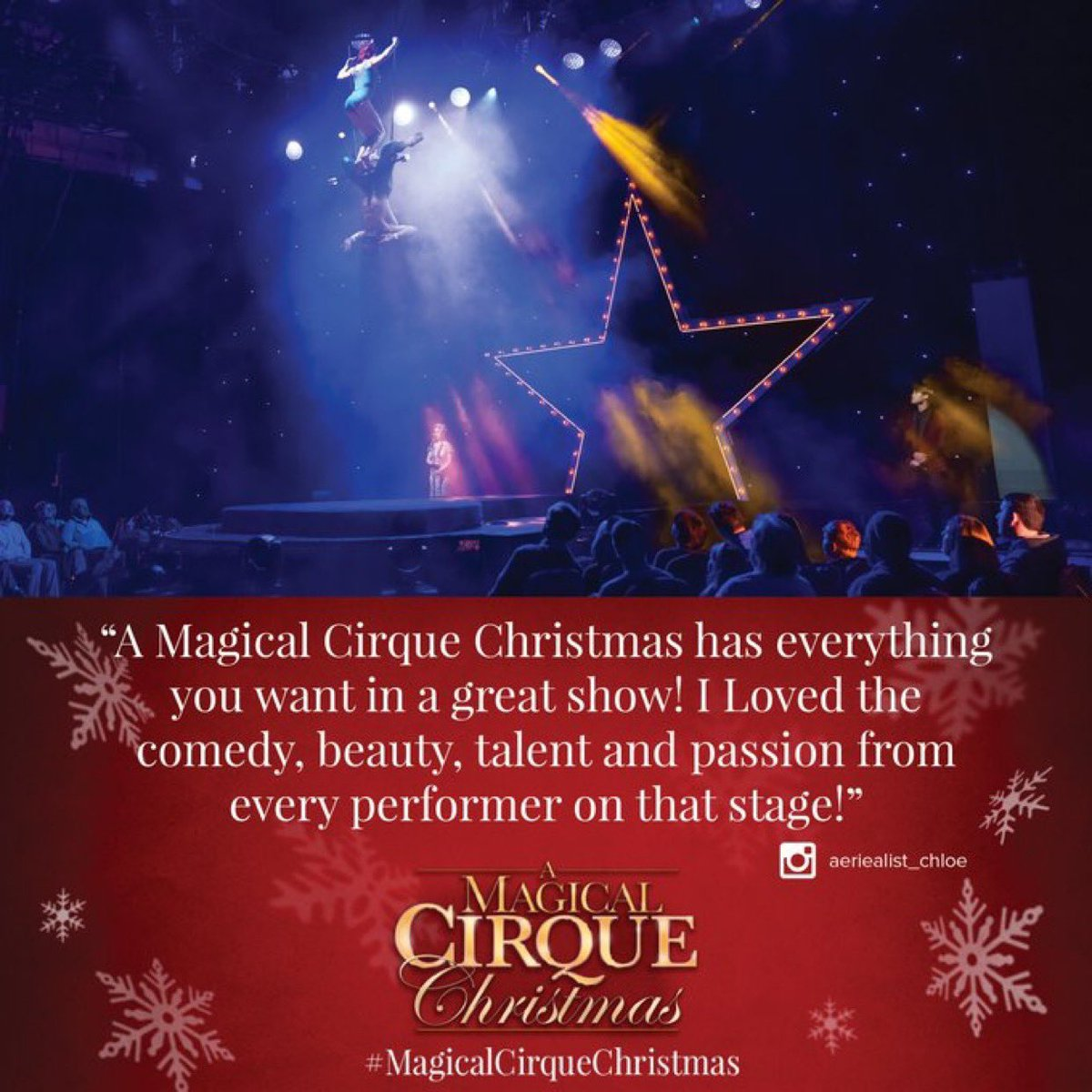 A Magical Cirque Christmas.Media Tweets By A Magical Cirque Christmas Cirquechristmas