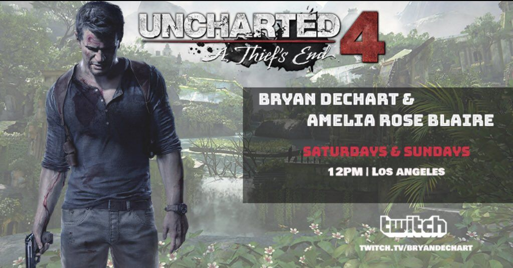 Excellent Bryan Dechart Uncharted4 Finale Sunday On Twitter Rt To Beatyapartments Chair Design Images Beatyapartmentscom
