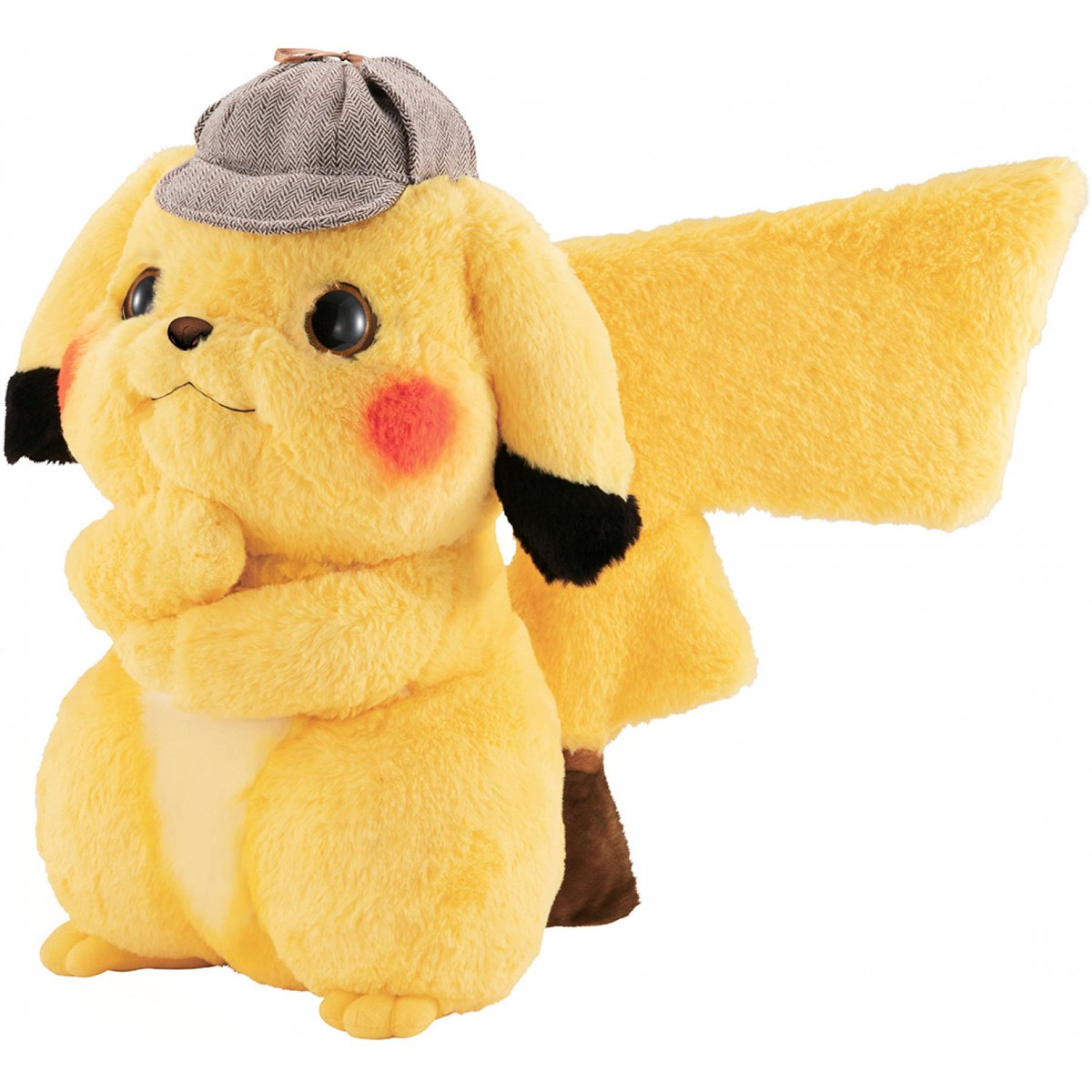 Nintendo Wire On Twitter The Life Size Detective Pikachu Plush From Bandai Is Available To Pre Order At Play Asia This Little Guy Is Pretty Expensive But He S So