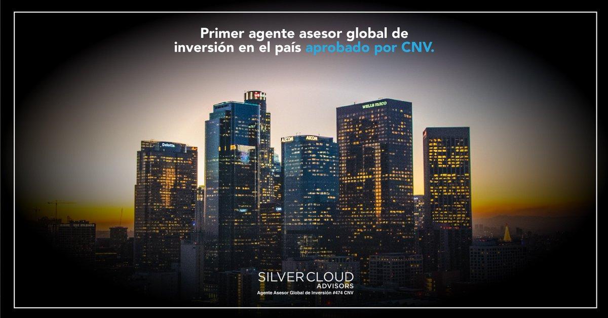 #SilverCloudAdvisors es el primer #AAGI aprobado por la #ComisiónNacionalDeValores. Tenemos la capacidad y experiencia para brindarte asesoramiento y gestión de forma personalizada. Conocenos en http://www.silvercloud.com.ar