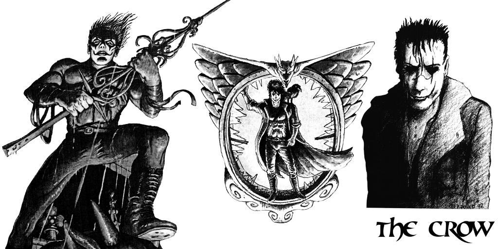 Crow Concept Art