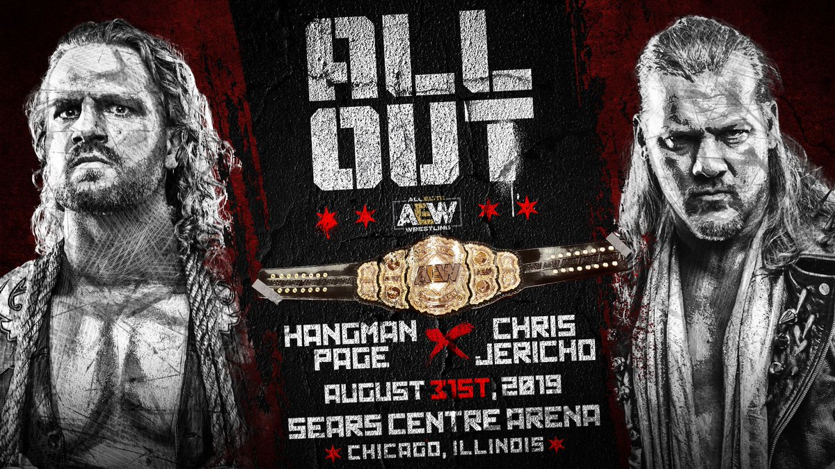 AEW Officially Announces World Heavyweight Title Match With Chris Jericho Vs. Adam Page