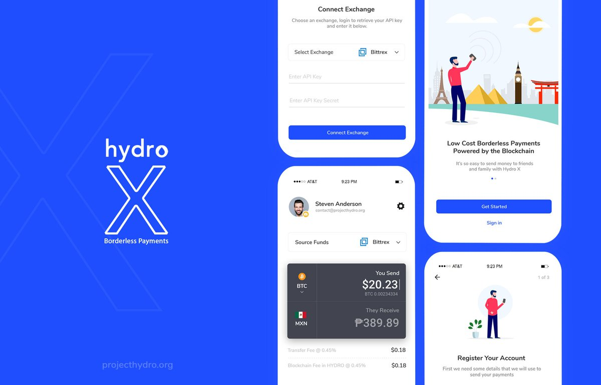 Hydro X is coming! Development is currently ahead of schedule to lower fees by over 5x for those sending money across borders. It is estimated that migrants are now losing $25 Billion per year in these high cost remittance fees.  $hydro #payments #solutions #buidl #comingsoon