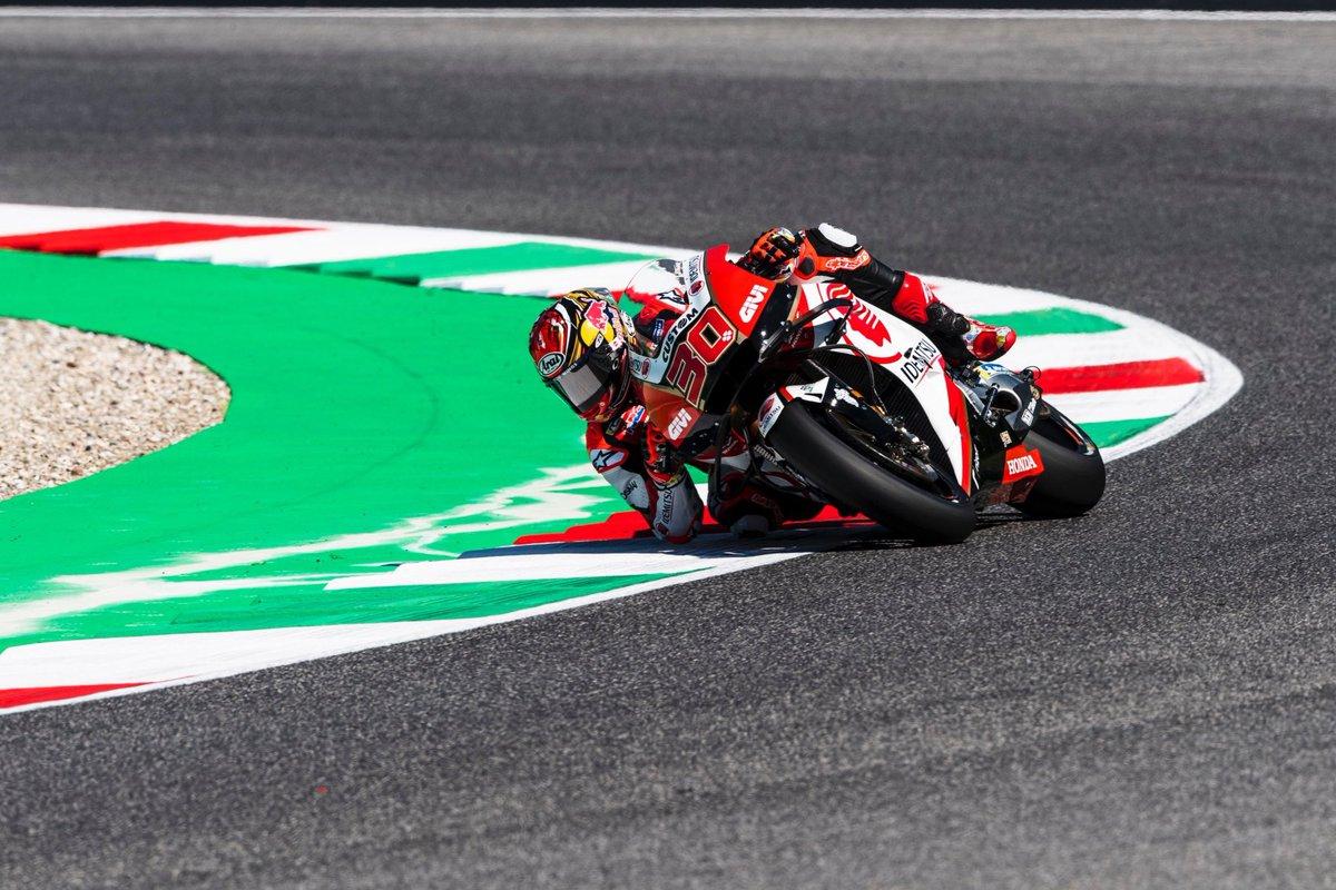 イタリアGP初日は14番手発進! First day of #ItalianGP 🇮🇹❤️ #LCRHondaIDEMITSU #MotoGP