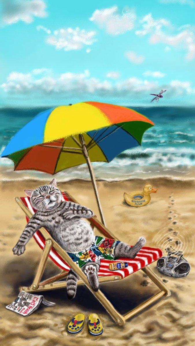 Картинка рисунок отпуск