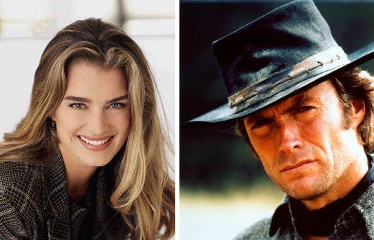 HAPPY BIRTHDAY  Brooke Shields  and  (the legend, the g.o.a.t.) Clint Eastwood