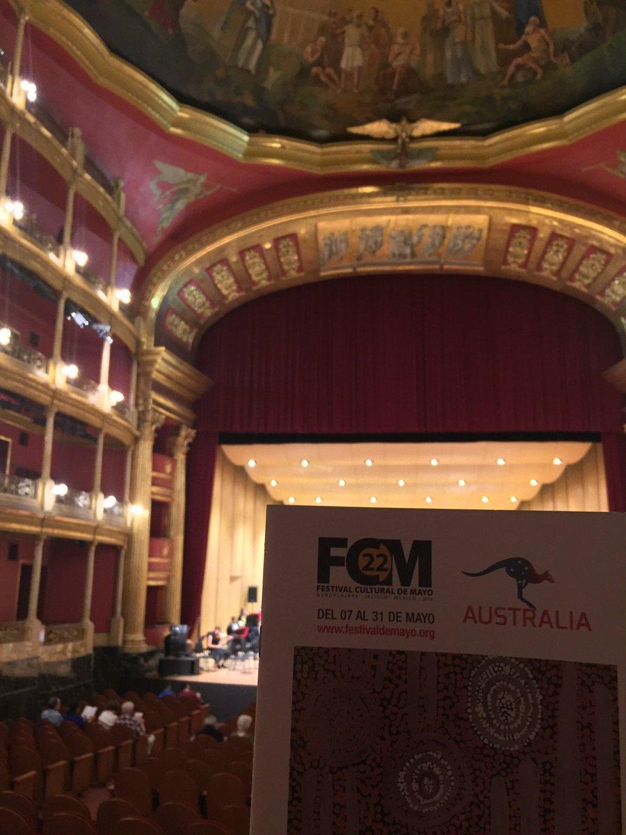 Listos para despedir una edición más del @FestivaldeMayo , con nuestro tradicional concierto...