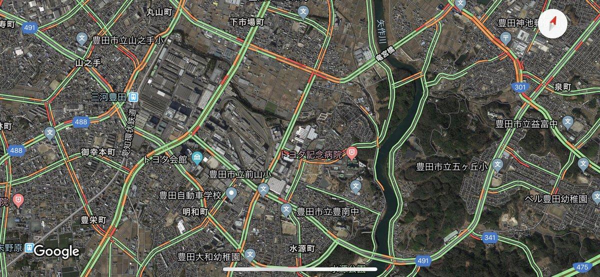 トヨタ テクニカル センター 下山