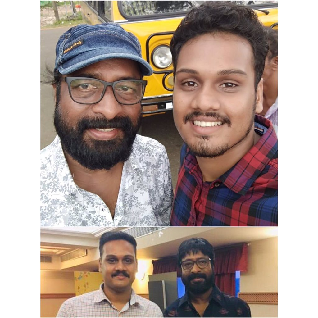 It was one of the best moments in my life.. hope to work with you again sir!!!, those shoot days and missing Krishnan a lot@harisreeashokan #myguru #myaashan #aninternationallocalstorypic.twitter.com/YYFQJwC0oM