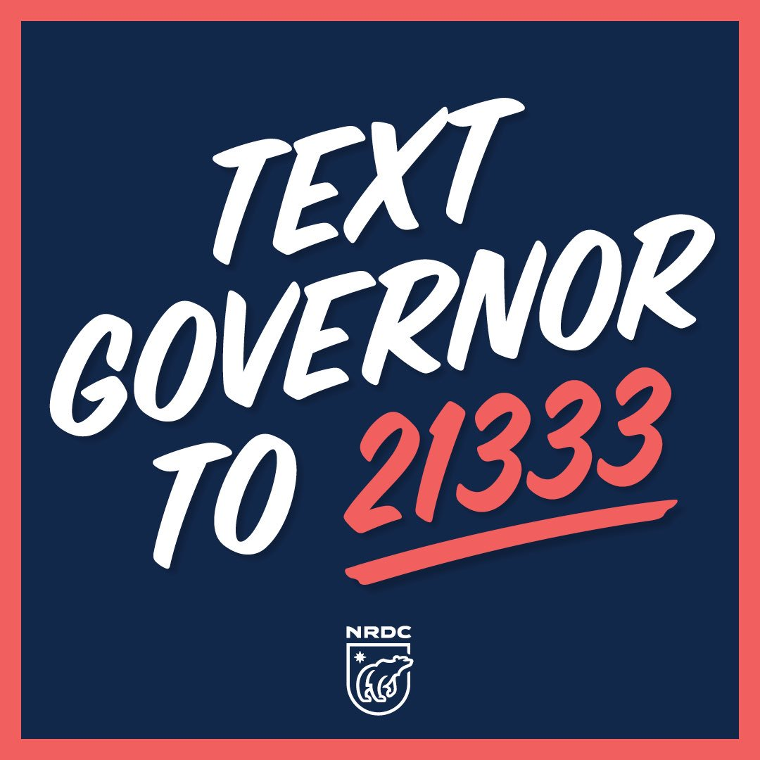 The impacts of climate change are here right now and we can use our voices to demand climate action. Join me and @NRDC and call your Governor to #ActOnClimate by texting GOVERNOR to 21333!
