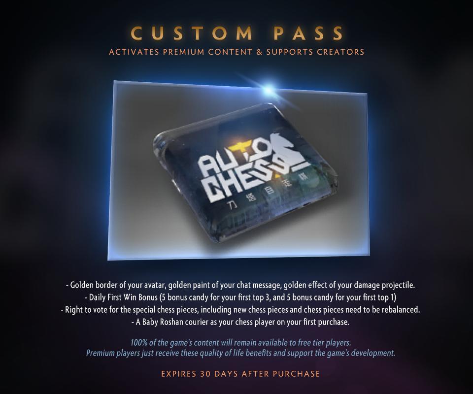 [Dota Auto Chess] Auto Chess ra mắt Custom Pass với hiệu ứng đẹp mê ly
