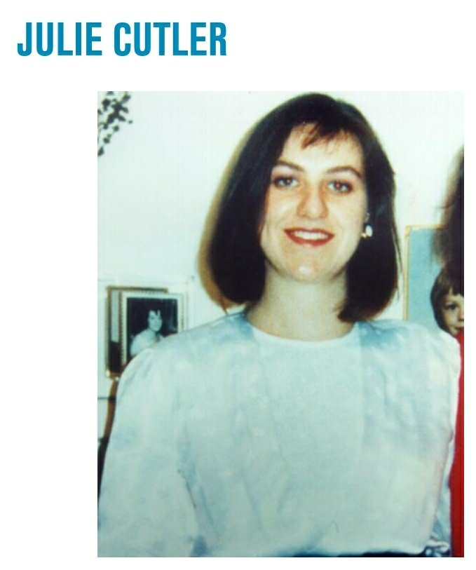 #Missing Julie Cutler 🦋 Age Now: 53 Last Seen : at 12:30am 20th June 1988 Leaving #Parmelia Hilton Hotel #Perth #WA #Australia Car found 2 days later in the sea off #CottesloeBeach Last Seen wearing black evening dress with high collar gold buttons & black shoes  Any info 👮♀️📞
