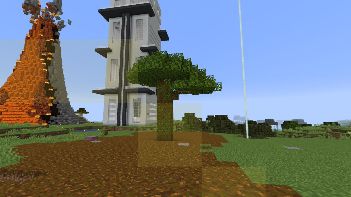 Jt And Bex On Twitter Worlds Smallest Giant Jungle Tree Minecraft Lyfcraft Choppinglogs
